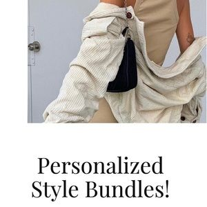 Personalized Style Bundles!